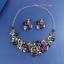 Fashion-Women-Pendant-Crystal-Choker-Chunky-Statement-Chain-Bib-Necklace-Jewelry thumbnail 84