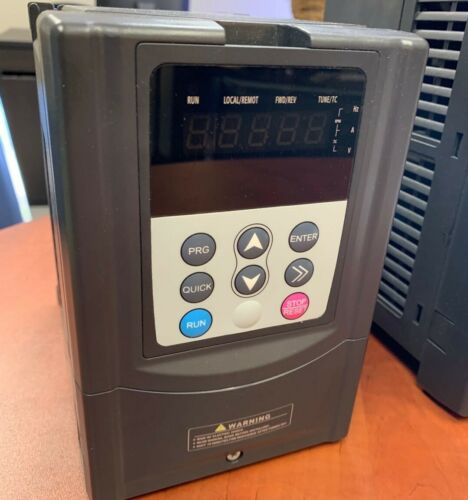 3HP 2.2 KW VFD Solar pump controller 2HP variable frequency drive 1.5KW