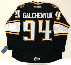 reputable site 0bde4 0150a Details about ALEX GALCHENYUK RBK PREMIER SARNIA STING JERSEY MONTREAL  CANADIENS