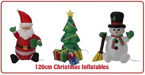 CHRISTMAS-XMAS-INFLATABLE-BLOW-UP-DECORATIONS-OUTDOOR-120CM-LIGHT-UP-INDOOR-FUN