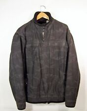 Levis Men's Black Camo Rugged Full Zip Jacket, Large, 100% Cotton, Tab Twills
