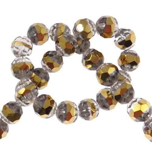 14 checa cristal perlas 12mm aproximadamente goldrahm abalorios joyas Design r70