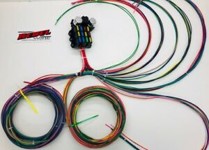 Rebel Wire 12 Volt Wiring Harness Made in the USA!! 9+3 Circuit Universal Kit