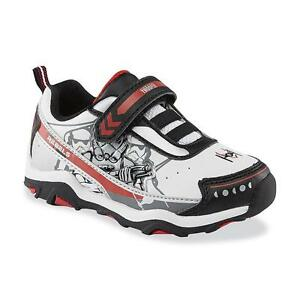 Star Wars Sneakers >> Details About Star Wars Sneakers Size 7 Toddler Boys Athletic Shoes Stormtrooper Nwt