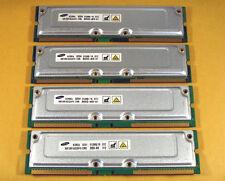 Dell Dimension 8200 2GB 4x512MB PC800 40NS 400/533MHz RDRAM Mem Samsung TESTED