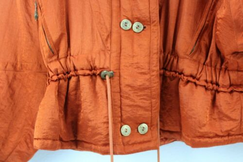 lynlås Orange Nylon Solid Jacket Blazer Laurel 38 Women's Størrelse ZqOfBxTI