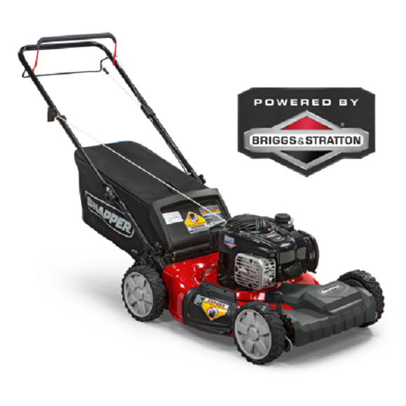Sner 21 Front Wheel Drive Self Propelled Gas Mower With Side Discharge Mul
