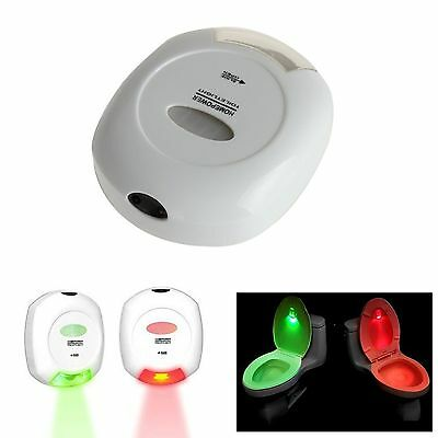LED Sensor Motion Voice Activated Toilet Lights Bathroom Auto Night Lamp Bulb PC