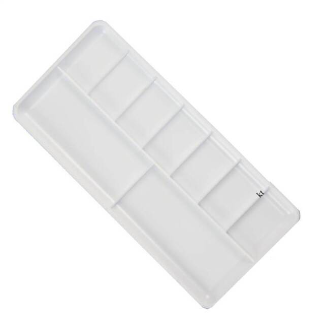 ARTISTS PAINT MIXING TRAY PALETTE 7 WELL FOR WATER COLOURS BLT06