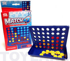 FOUR IN A ROW CONNECT 4 MINI TRAVEL GAME TOY BOYS GIRL BIRTHDAY PARTY BAG FILLER