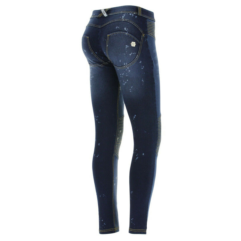 FREDDY WR.UP® SHAPING EFFECT PANTS - REG RISE - SKINNY FIT - JEAN WITH PATCHES