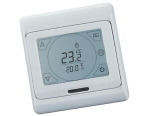 digital raumthermostat touchscreen fu bodenheizung b695 ebay. Black Bedroom Furniture Sets. Home Design Ideas