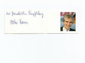 Konstruktiv Cdu Saar-cdu Saarland-altes Original Autogramm Von Peter Hans-auf Kärtchen-top Original, Nicht Zertifiziert RegelmäßIges TeegeträNk Verbessert Ihre Gesundheit