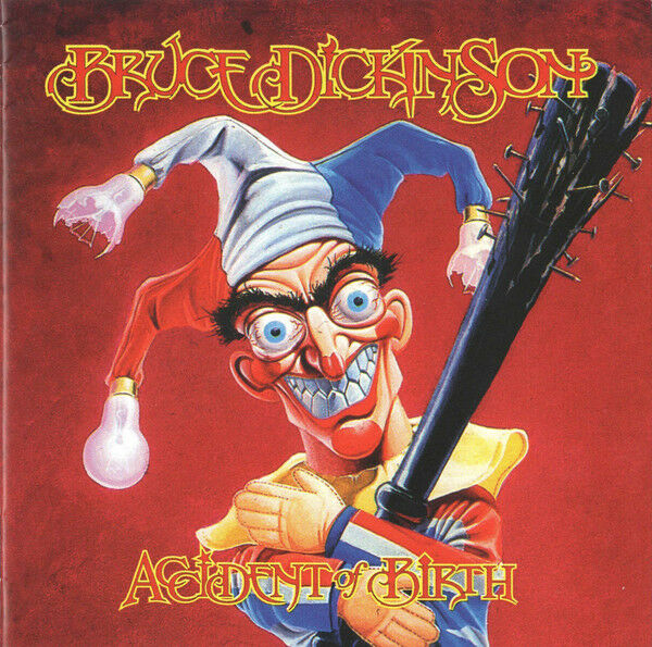 Bruce Dickinson ‎– Accident Of Birth  CD NEW 13 Tracks.