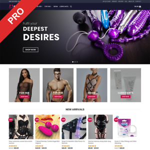 Turnkey Business Website Adult Toys Dropshipping Store