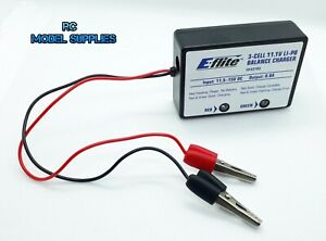 flite-11-1v-3-E-celulas-LiPo-Cargador-de-equilibrio-0-8A-EFLC-3105