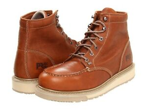 Details about Timberland Pro BARSTOW WEDGE Mens Brown Casual SOFT TOE TB089647214 Work Boots