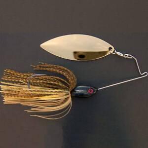 Bassdozer-spinnerbaits-SHORT-ARM-WILLOW-3-4-oz-DRAGONFLY-spinner-bait-baits
