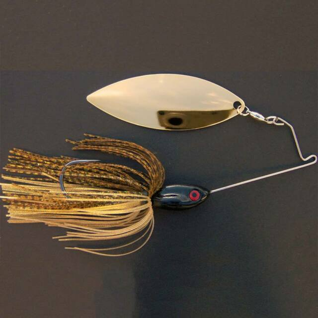 Bassdozer spinnerbaits SHORT ARM WILLOW 3/4 oz DRAGONFLY spinner bait lures
