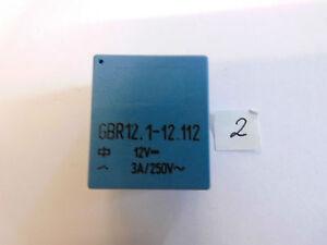 Relais-GBR-10-1-11-12-12-V-9-15-V-320-Ohm-8A-250-V-AC-1x-um-liegend-Relay