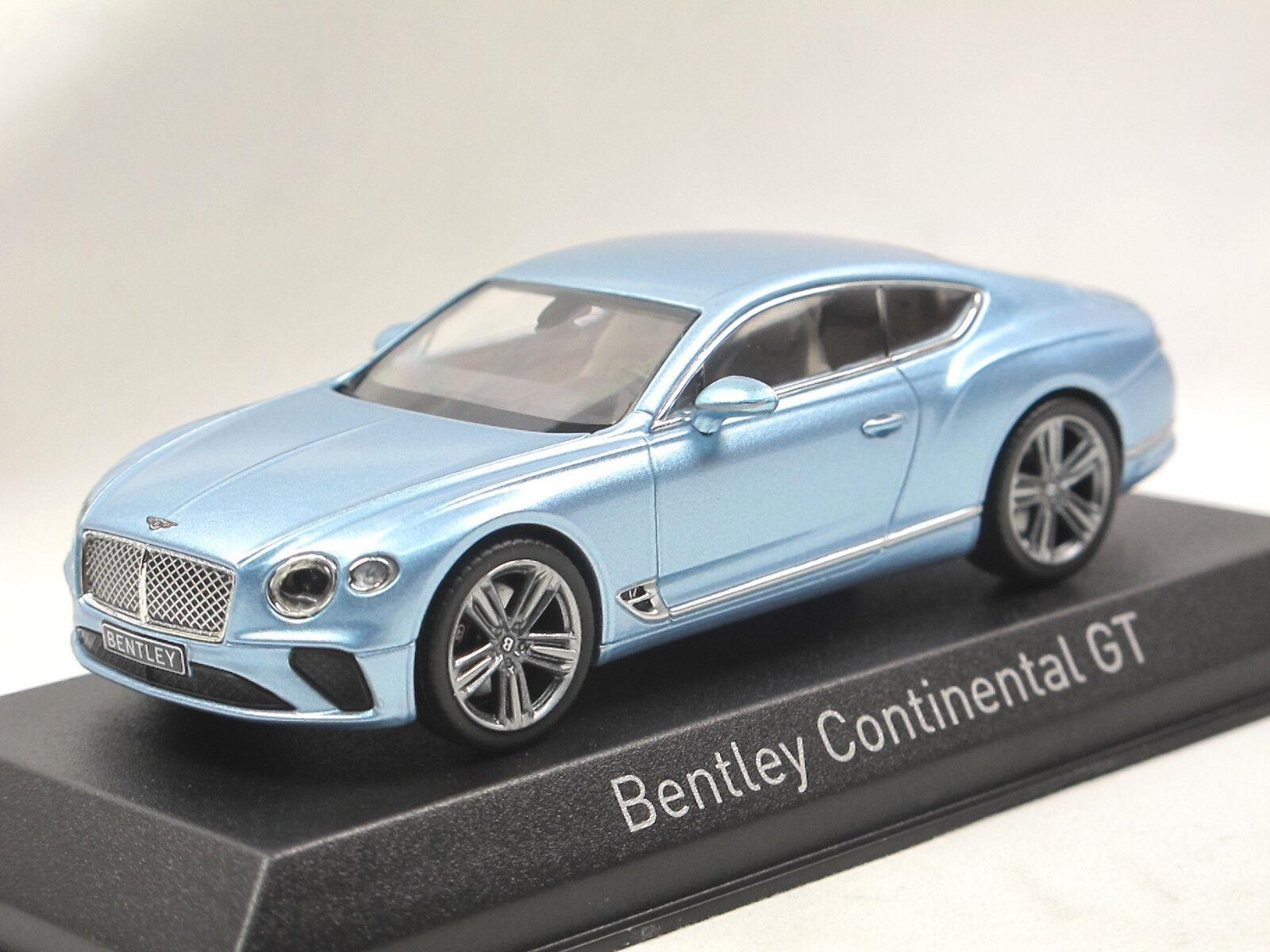 Norev 270321 - 2018 Bentley Continental GT - blau metallic - Modellauto 1 43  | Züchtungen Eingeführt Werden Eine Nach Der Anderen