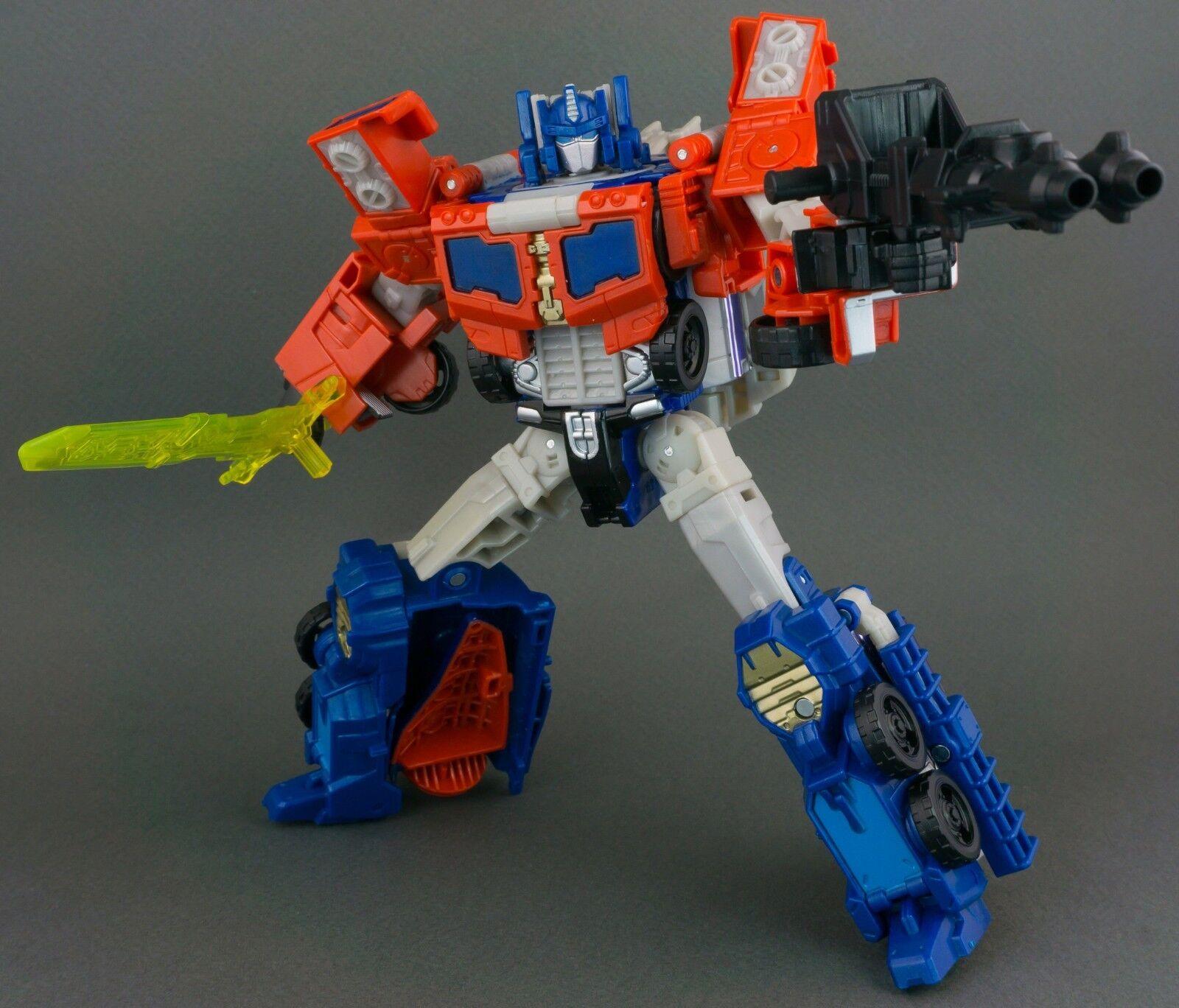 Transformers Titans Return OPTIMUS PRIME DIAC Complete Hasbro Voyager