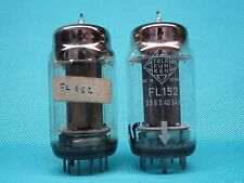 Ein gematchtes Paar FL152 von TELEFUNKEN, 95mA / 95mA, GUT. LgNr.R3705