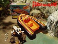 Big Jim - Super Agent - Schlauchboot + Motor / Secret Agent - Sea Jet - OVP !