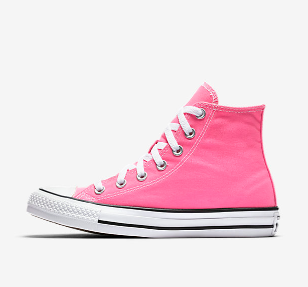 8e9ac38099b1 ... low cost new converse womens knockout hot pink taylor all star high top  canvas shoes sz ...