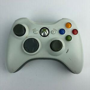 Microsoft Xbox 360 Controller White | Joystick Wear | No Battery Cover HG38