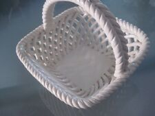 Le Petit Panier Shafford Co White Porcelain Berry Basket Dish