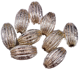 Vintage-Silver-Tube-Beads-Spacer-Bead-17-mm