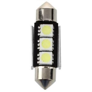 10X-CANBUS-36mm-Free-Error-3-LED-5050-SMD-6418-C5W-Placas-Dome-Bombilla-B8N3