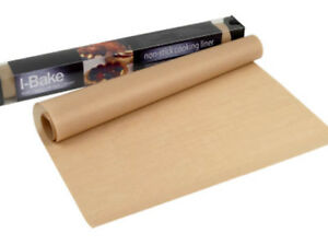 Non-stick-cooking-liner-sheet-reusable-100-039-s-of-times-oven-baking-tray