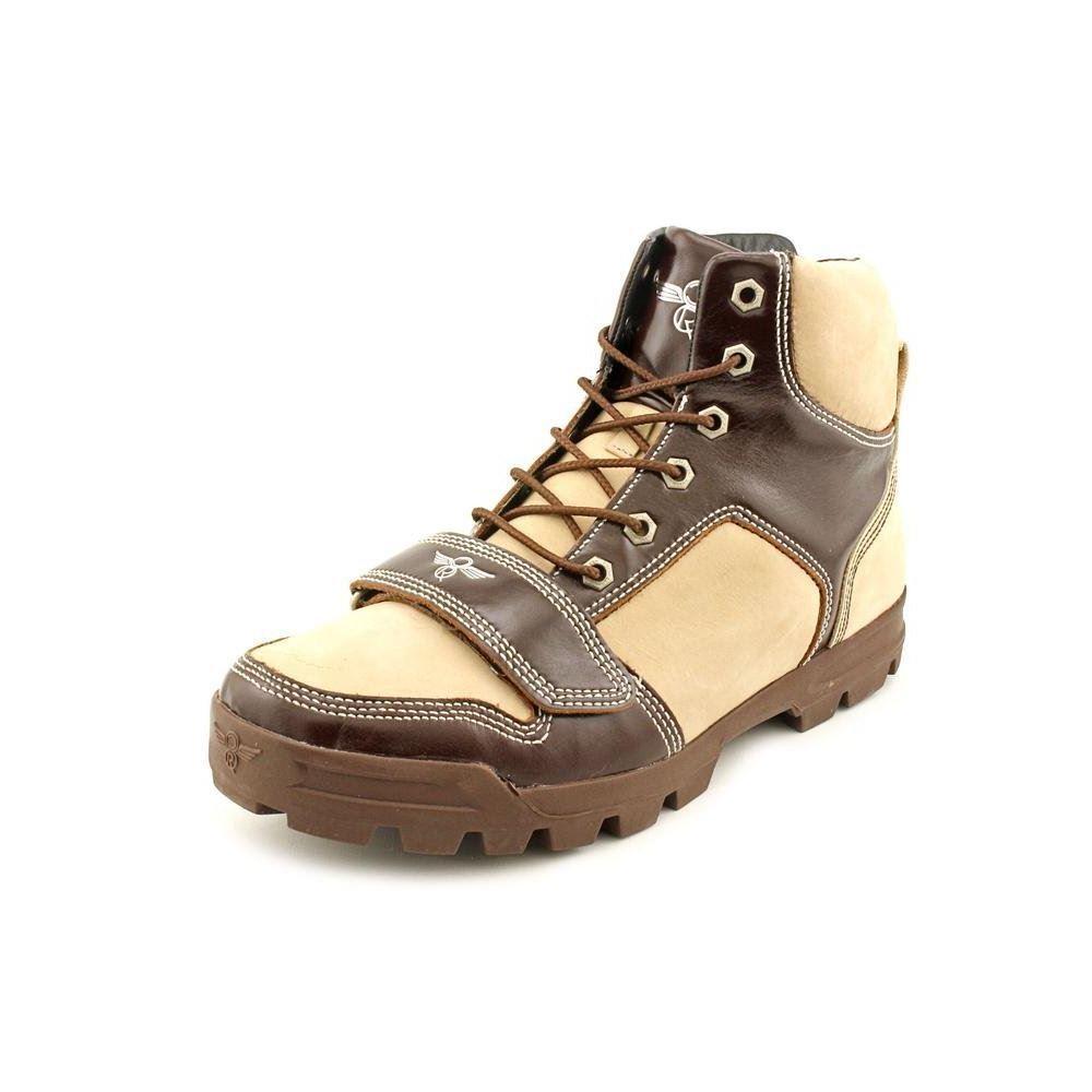 Creative recreation dio mitte lässige mens braune stiefel knöchel lässige mitte stiefel größe 8.5m uns 8d844b