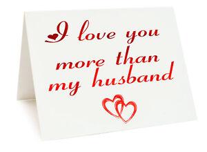 Anniversaire saint valentin carte d/'anniversaire-je vous aime plus que mon téléphone