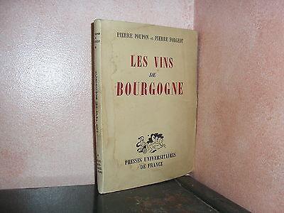 Les vins de Bourgogne par Poupon Chablis Côte de Nuits Mercurey Beaujolais
