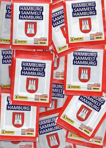 Hamburgo recopila Hamburgo//25 bolsas//Panini//Sticker