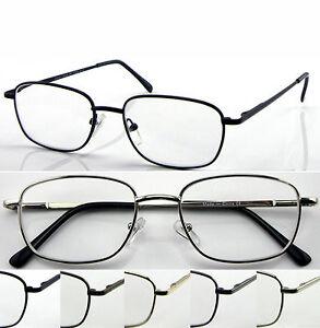 c8cb84c7d1f L51 Superb Classic Thin Specs Big Frame Reading Glasses Spring ...