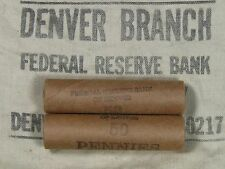 ONE UNSEARCHED - Lincoln Wheat Penny Roll 50 Cents - 1909 1958 P D S (234)