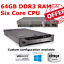 DELL-PowerEdge-R710-2x-X5675-3-06GHz-sei-core-64GB-RAM-8-x-2-5-034-Caddy-H700 miniatura 1