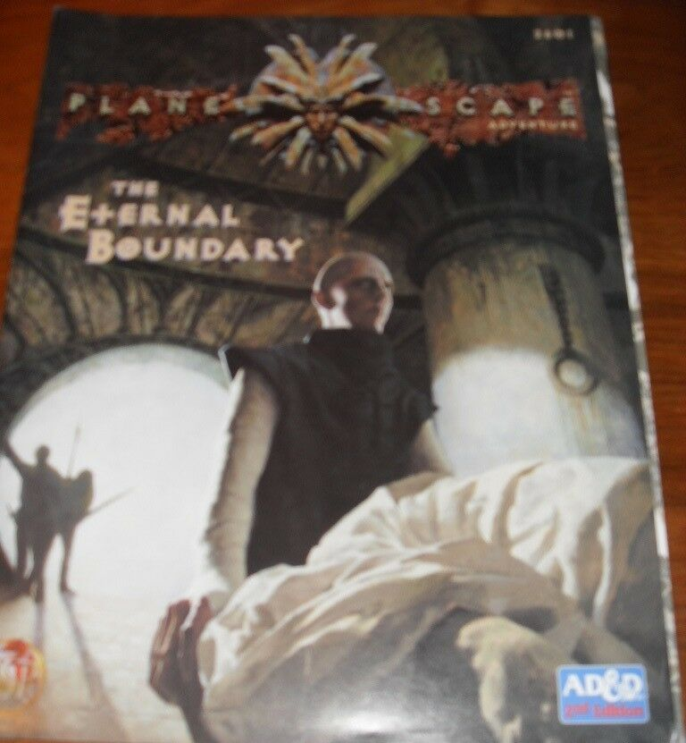 THE ETERNAL BOUNDARY DUNGEONS & DRAGONS PLANESCAPE ADVENTURE AD&D D&D VGC