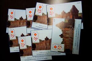 Laos-Stamps-ASEAN-Souvenir-Sheet-Lot