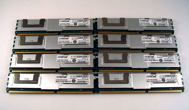 Memory Ram 4 Dell PowerEdge Server 2900 2950 III 1950 1955 667MHz 2x Lot