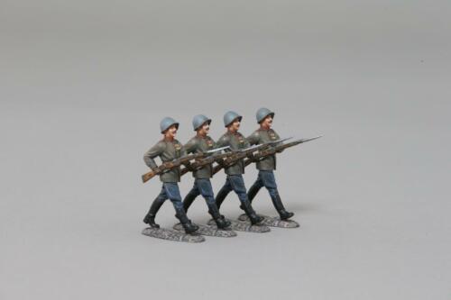 WW2 Painted Metal THOMAS GUNN SOV014B Soviet May Day Parade Set of 4