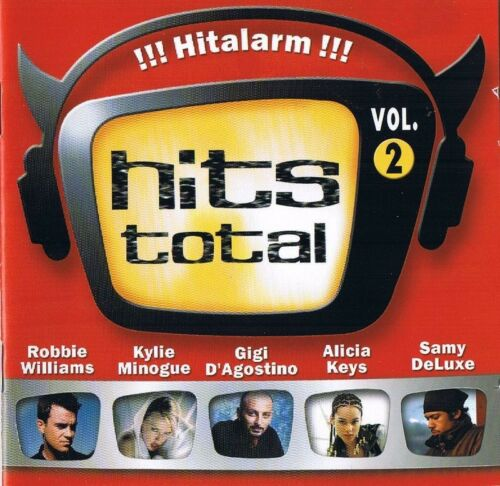 "1 von 1 - HITS TOTAL "" !!! Hitalarm !!!""  Vol.2 2CD-Box BMG 2001 NEU & OVP 40 Tracks"