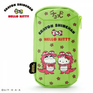 fba2f33a5 Sanrio Hello Kitty × Crayon Shin Shinchan Flat Pouch Chocobi From ...