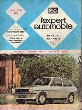 RTA revue technique automobile n° 153 FORD FIESTA 1300 1979