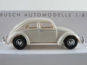 Busch-42720-VW-Maggiolino-modello-di-esportazione-1953-in-beige-1-87-h0-Nuovo-Scatola-Originale