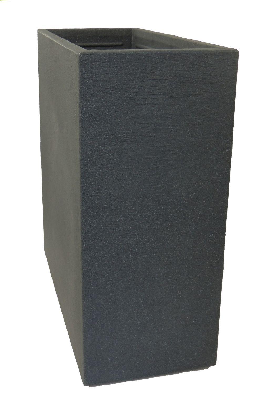 Separador de de Ambientes Macetas Kubus de Separador Plástico Antracita ce6ba6